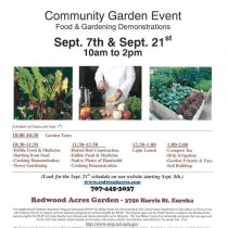 On The Plate ~ Community Garden Event